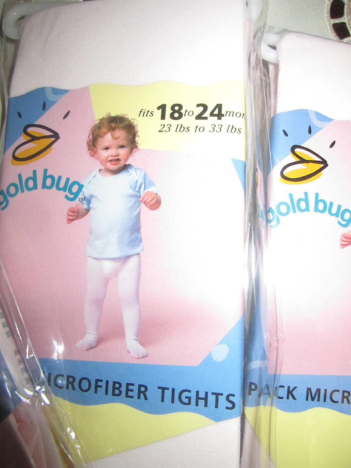 Gold Bug Baby Microfiber Tights Fits 18 to 24 Months