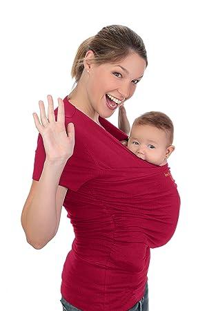 T-shirt peau-à-peau Amarsupiel Femme Taille S(36-38) Couleur rouge ... 42f1022482b