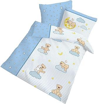 Bärchen Fein Biber Baby Kinder Jungen Bettwäsche Schmusebär