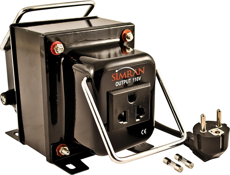 750 Watt Voltage Converter Transformer Heavy Duty Step Up//Down 750W 110-220V