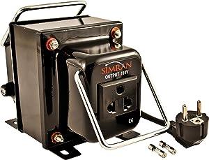 Simran Voltage Converter Transformer 750 Watt 220 Volt to 110 Volt Step Down Transformer
