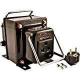 Simran THG-750 Step Up / Down Voltage Transformer 750 Watts Works with both AC 110 Volts and 220 Volt - Use Worldwide