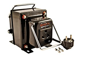 Simran THG 750 (2-WAY) - Heavy Duty 750 Watt AC 120V/220V Step Up and Down Voltage Converter Transformer For Worldwide Use.
