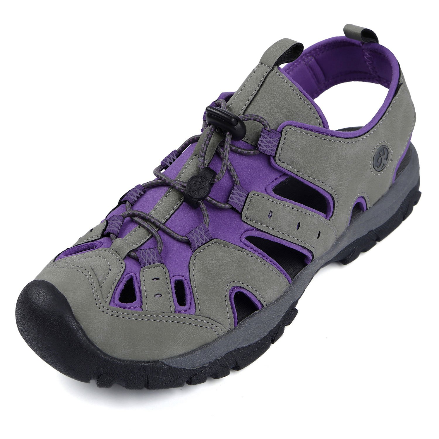 Northside Womens Burke II Sport Athletic Sandal B00E7OOUNS 6 B(M) US|Grey/Purple