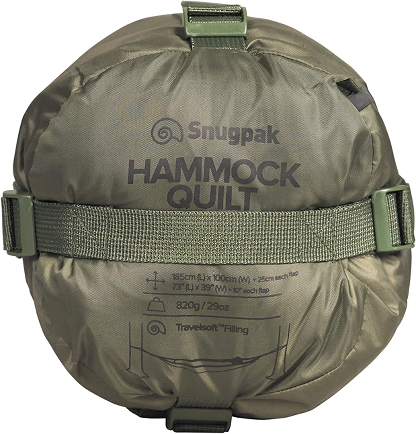 Insulated Thermal Top Cover for Outdoor Camping Snugpak Hammock Quilt
