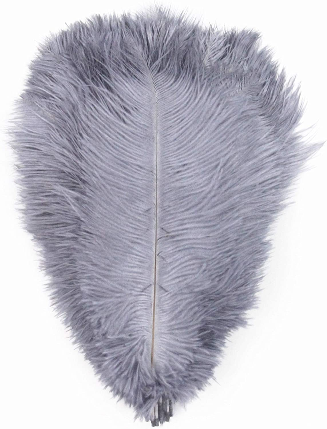 decorations costumes PANAX Ostrich Feathers 20 pieces 25-30cm//10-12 Inches length 13 colors variants Ideal for Crafting Weddings White Carnival