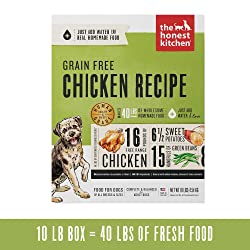 Grain Free Dehydrated Dog Food from 'The Honest Kitchen'