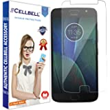 CELLBELL Tempered Glass Screen Protector For Motorola Moto G5S With Installation Kit