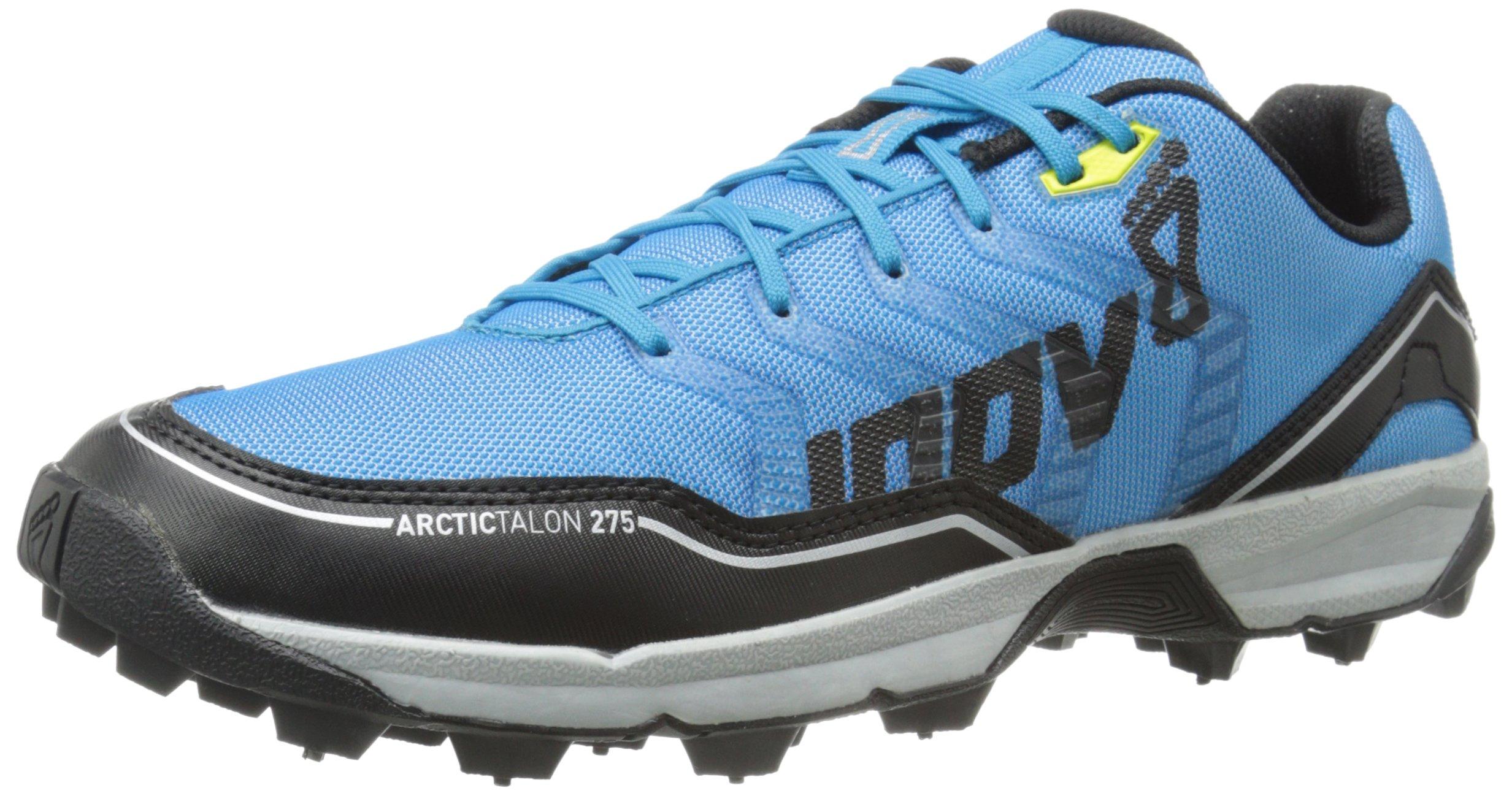 Inov-8 Arctic Talon 275 Trail Running Shoe, Blue/Black/Silver/Yellow, 9 C US