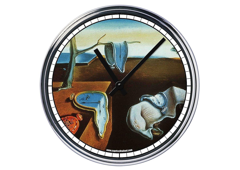 Reloj de Partete de acero Salvador Dali la persistenza della memoria: Amazon.es: Hogar