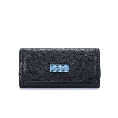771d3193a2ea PRADA(プラダ) 財布 1MH132_2BMU エティケット二つ折り長財布 ウォレットカードケース付 (