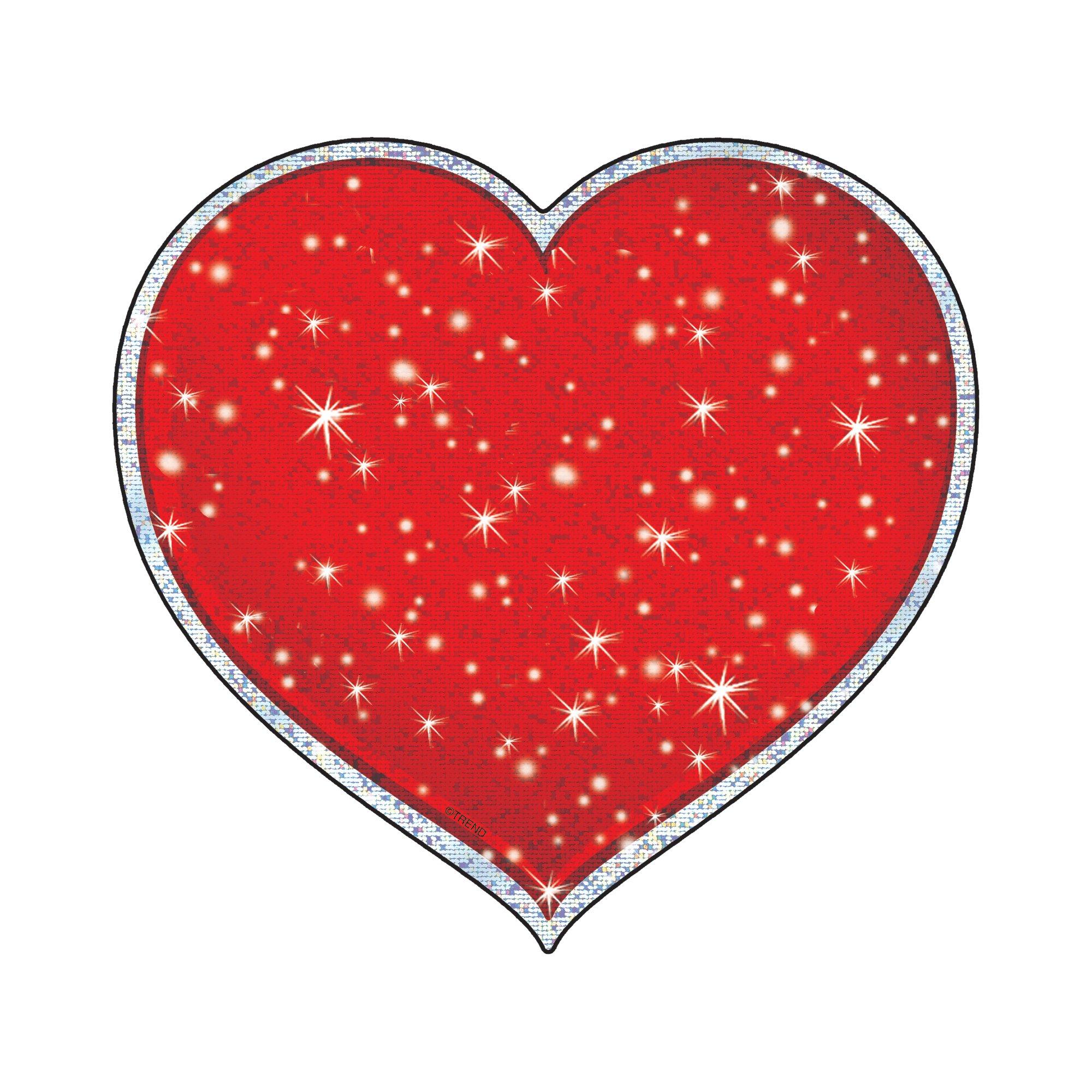 TREND enterprises, Inc. Shimmering Hearts Sparkle Classic Accents, 24 ct by Trend Enterprises Inc