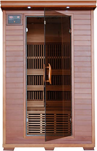 Radiant Saunas 2-Person Infrared Cedar Wood Sauna