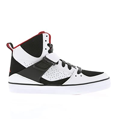 953f1bee1e2 NIKE Air Jordan Flight 45 Vulcanized Baskets Homme 683366-112-46-12 Blanc   Amazon.co.uk  Shoes   Bags