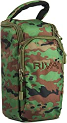 Riva Turbo X Travel Case (Camouflage)