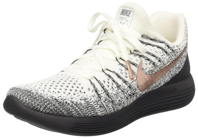 NIKE Lunarepic Low FK 2 X-Plore Mens Running Shoes B073D7ZW8W 11.5 D(M) US|White/Metallic Red-Bronze-Black