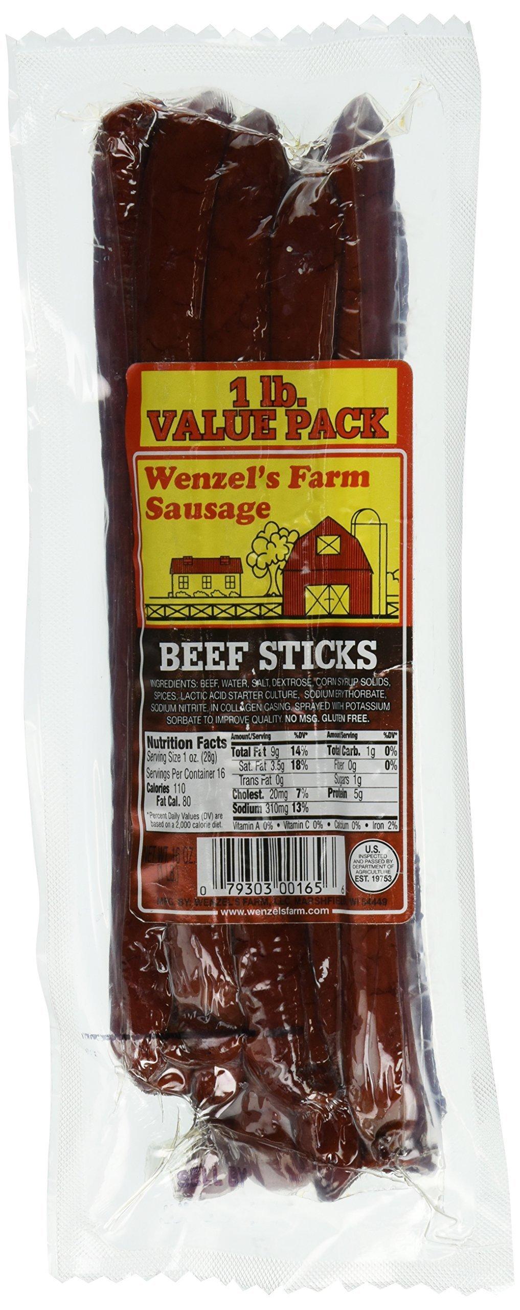 Amazon.com: Wenzel's Farm Honey Ham Sticks - Gluten Free