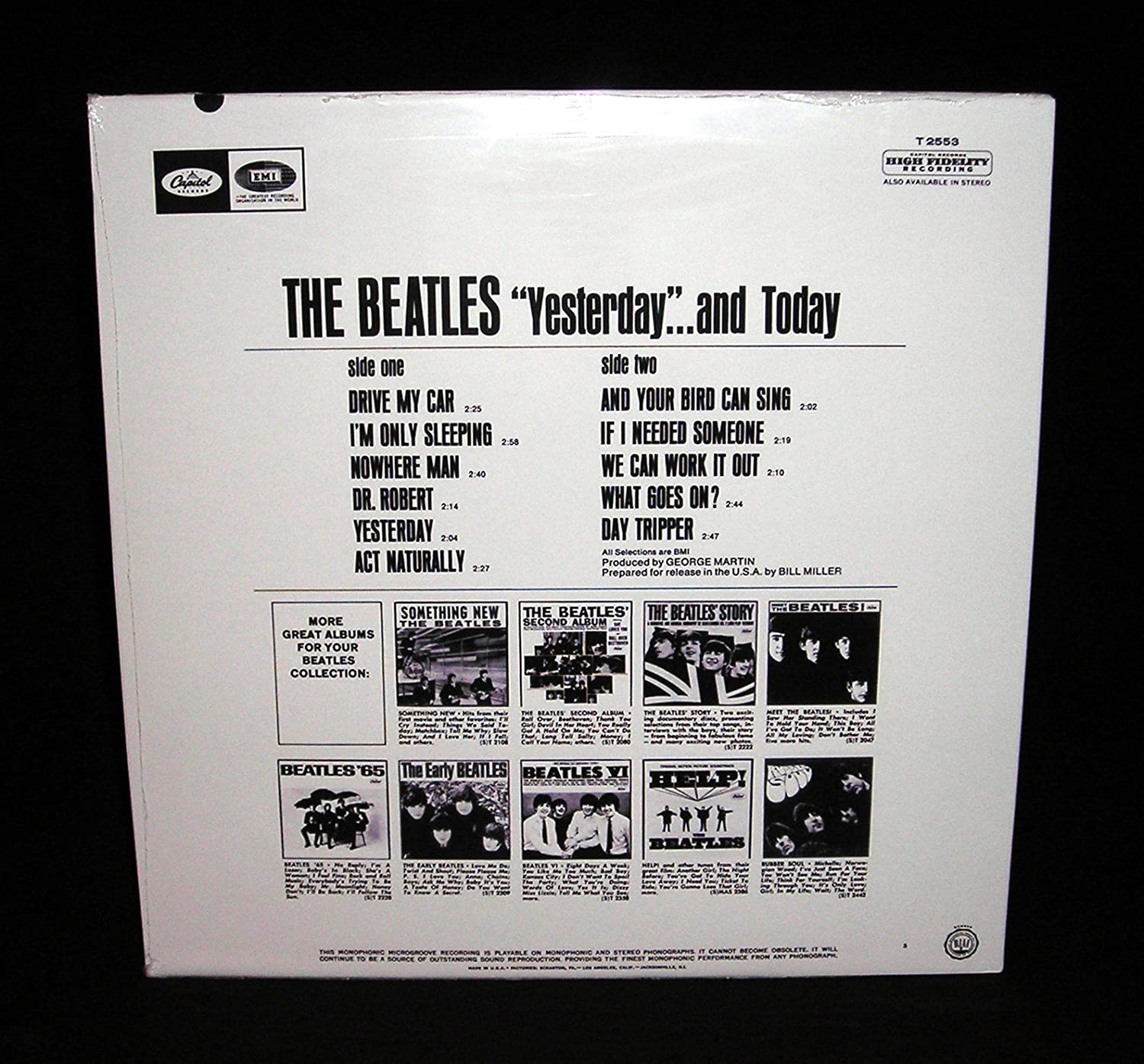 The Beatles The Beatles Mono Butcher Cover Yesterday And Today