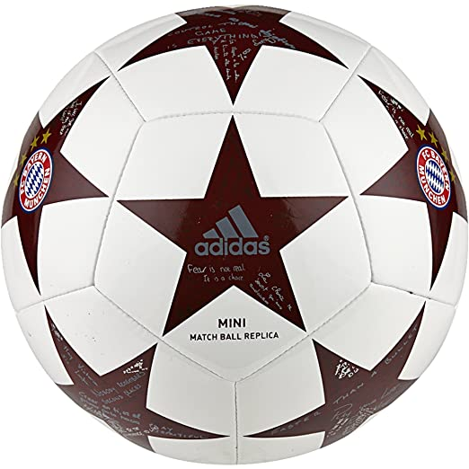 2 opinioni per Adidas Finale16Fcb Min Pallone da Calcio, Bianco (Bianco/Onix/Onisua), 1
