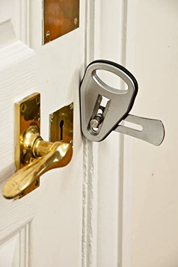 The EasyLock - The lightweight easy to install super strong temporary door lock. Amazon.co.uk DIY \u0026 Tools & The EasyLock - The lightweight easy to install super strong ...