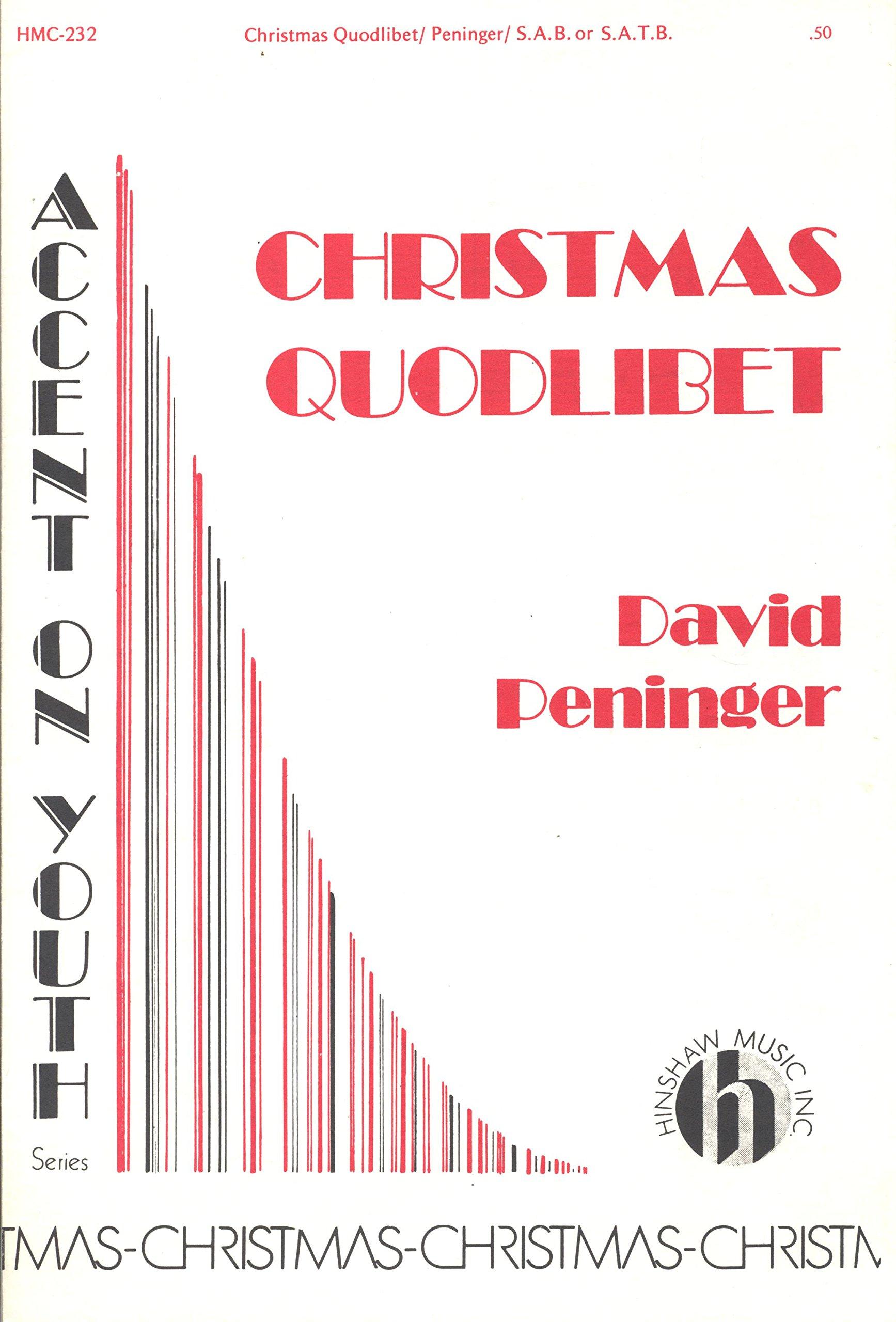 Christmas Guodlibet: David Peninger: Amazon.com: Books