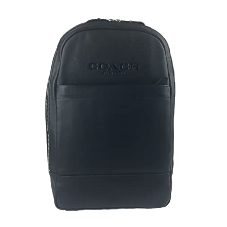 49fc55fd8830 COACH MEN CHARLES SLIM BACKPACK IN SPORT CALF LEATHER (BLACK)  Amazon.ca   Luggage   Bags