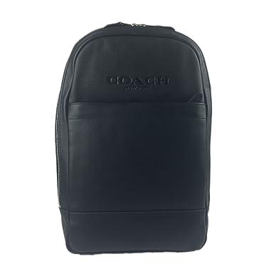 037ef0ba7a5fc ... cheap coach men charles slim backpack in sport calf leather black 57696  8c6cb