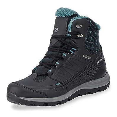 19fcfbc366f0 Salomon Kaïpo Mid GTX Shoes Men Black 2018  Amazon.co.uk  Shoes   Bags