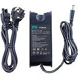 DTK Chargeur Adaptateur Secteur pour DELL: 19,5V 4,62A 90W Connecteurs: 7.4*5.5mm Alimentation pour ordinateur portable