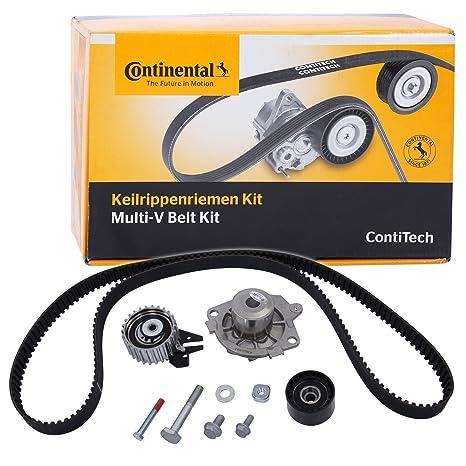 Continental Contitech CT1106WP1 - Bomba de agua y kit de correa de distribución: Amazon.es: Coche y moto