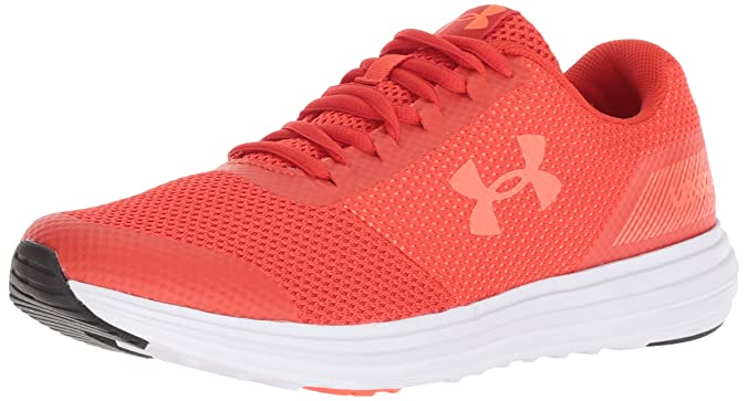Under Armour Women's Surge Running Shoe Radio Red (601)/After Burn 6 Best Breathable Mesh Running Shoes for Women