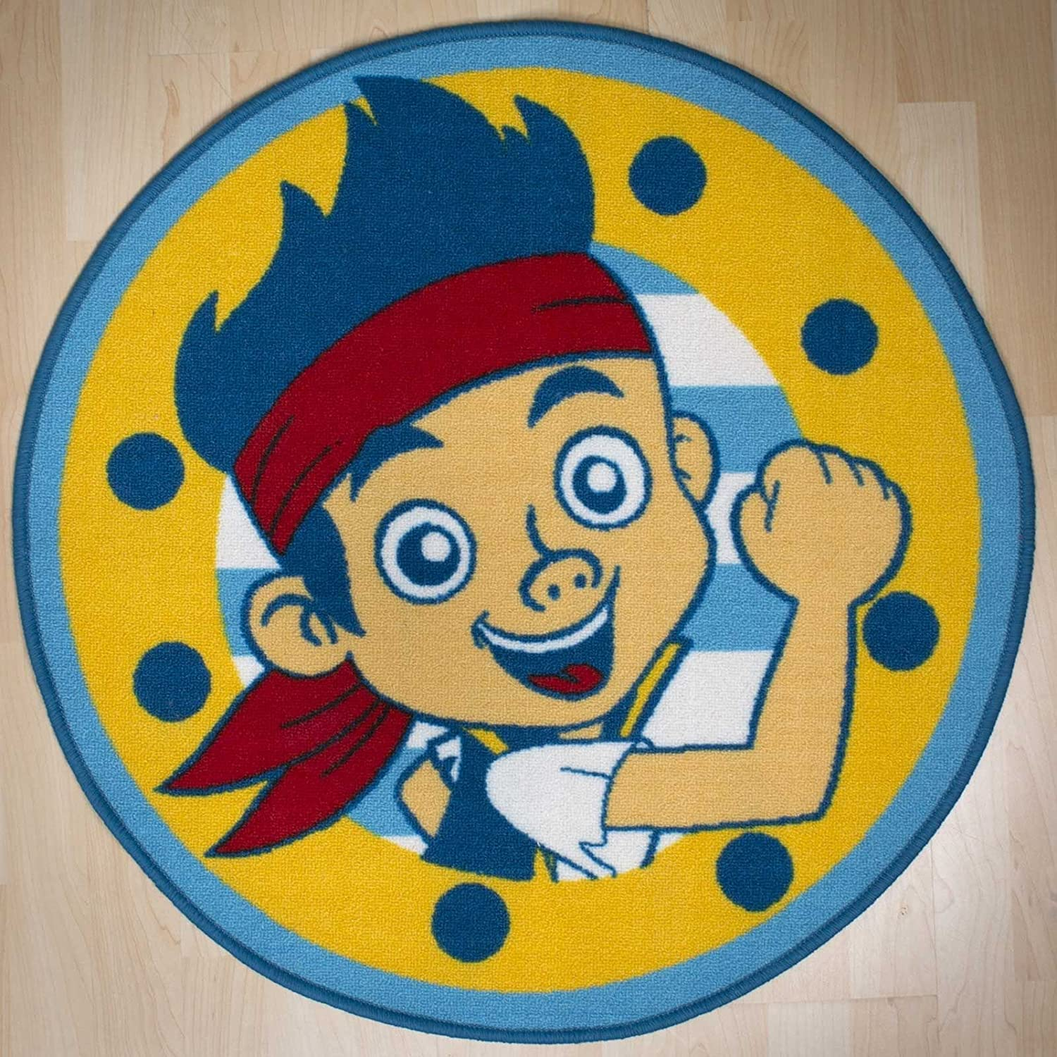 Amazon.com: Jake and The Never Land Pirates Rug: Toys & Games