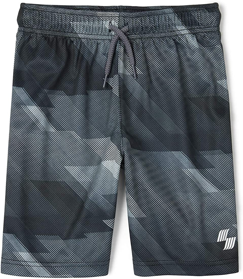 The Childrens Place Boys Printed Athletic Shorts