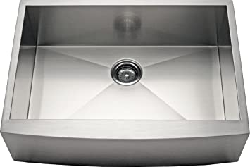 27 Quot Apron Farmhouse Single Bowl 16 Gauge Kitchen Sink
