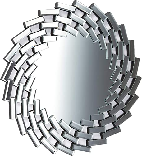 Christopher Knight Home Lileas Glam Wall Mirror, Clear
