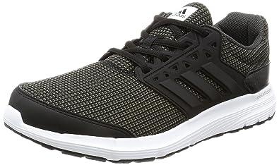 adidas Galaxy 3.1 M, Chaussures de Running Compétition Homme, Noir (Negro/(Negbas/Negbas/Neguti) 000), 41 1/3 EU