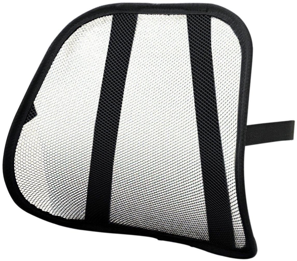 Safco Products 7153BL Mesh Backrest, Black