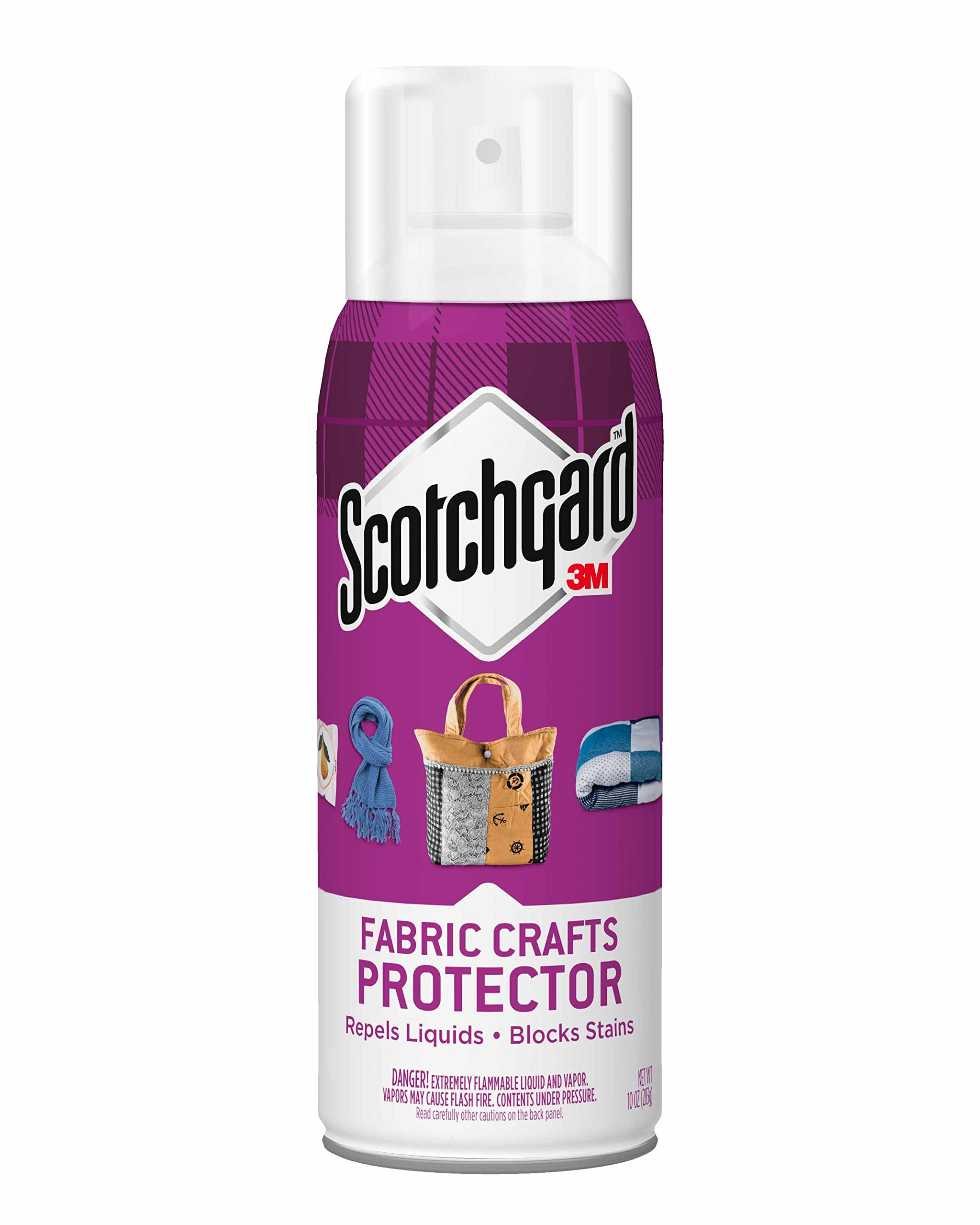 Scotchgard Fabric Crafts Protector, 1 Can, 10-Ounces