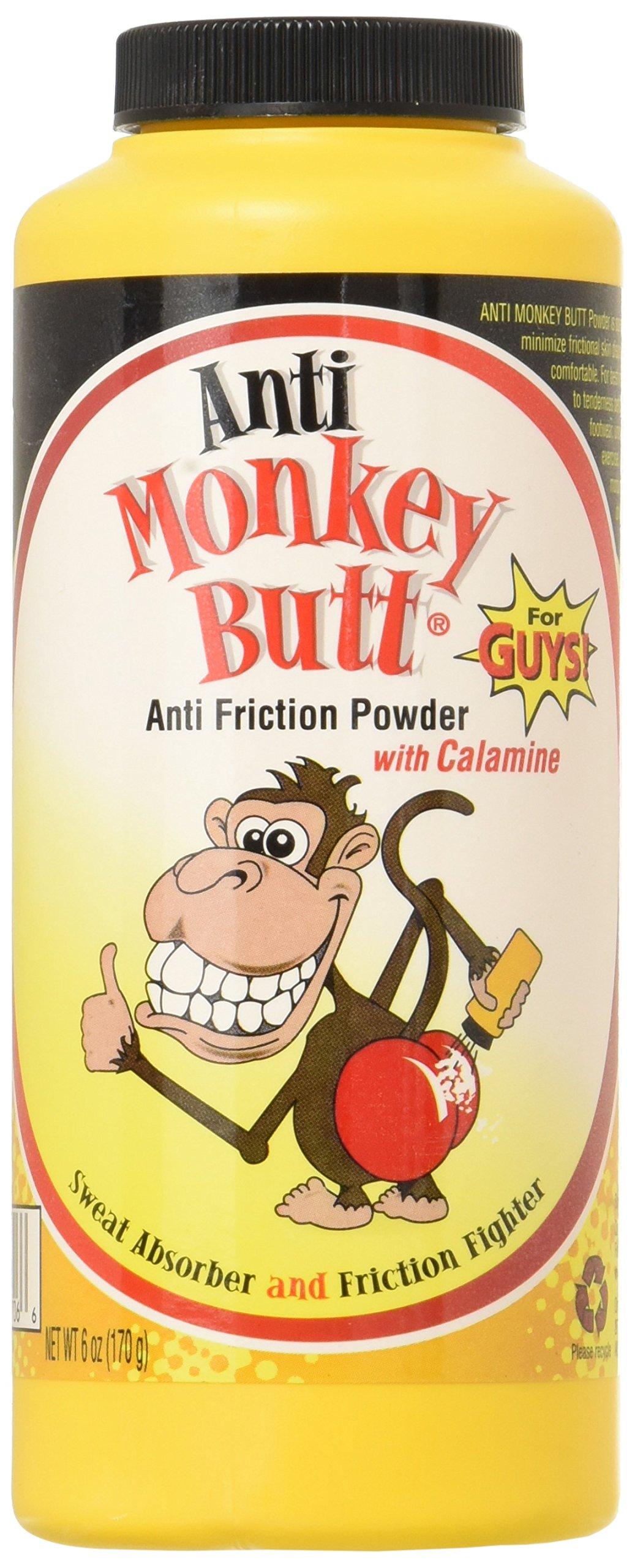 Anti Monkey Butt Powder 6 Ounce, Pack of 3 by Anti Monkey Butt