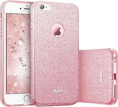 ESR Coque pour iPhone 6s/6, Coque Silicone Paillette Strass ...