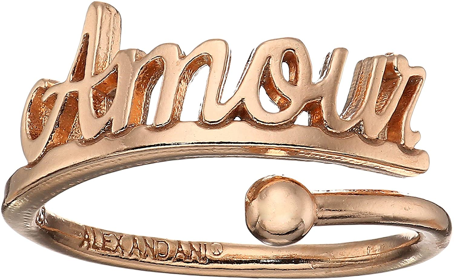 Alex and Ani Womens Amour Ring Wrap