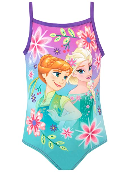 Y Disney Niña Morado 5 esRopa Para Frozen 6 AñosAmazon Bañador UMVqSpGz