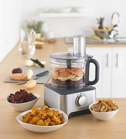 Kenwood FDM780BA - Robot de cocina, 1,5 l, 1000 W, color gris ...