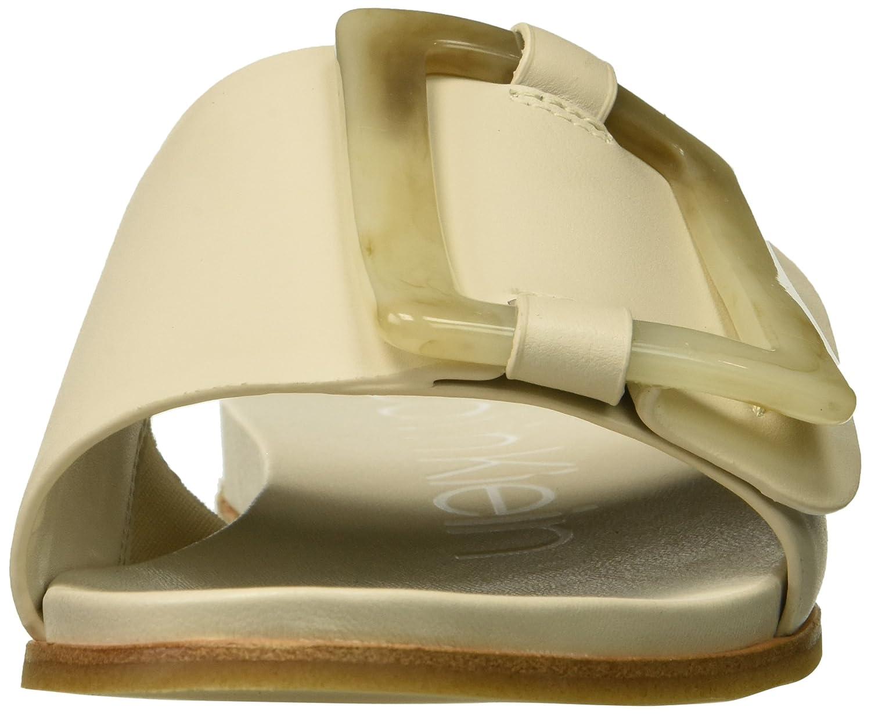 Calvin Klein Women's Patreece US|Soft Slide Sandal B07833NBWM 8.5 B(M) US|Soft Patreece White bec64a