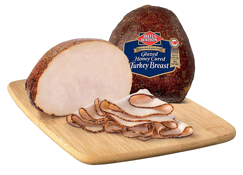 Dietz & Watson Sliced Honey Cured Turkey Breast, 0.5 lbs
