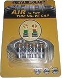 "Preyank Solar"" Universal Tyre Pressure Monitor Valve Cap Guage Indicator"""