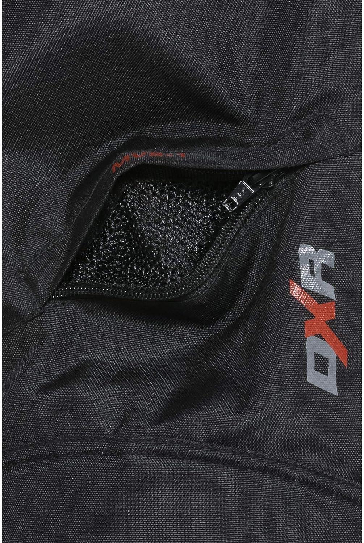 M wasserdicht Thermofutter Winddicht weitenverstellbarer Bund DXR Motorradhose Tour Textilhose 5.0 Motorradhose Herren atmungsaktiv Schwarz XXXL // 3XL