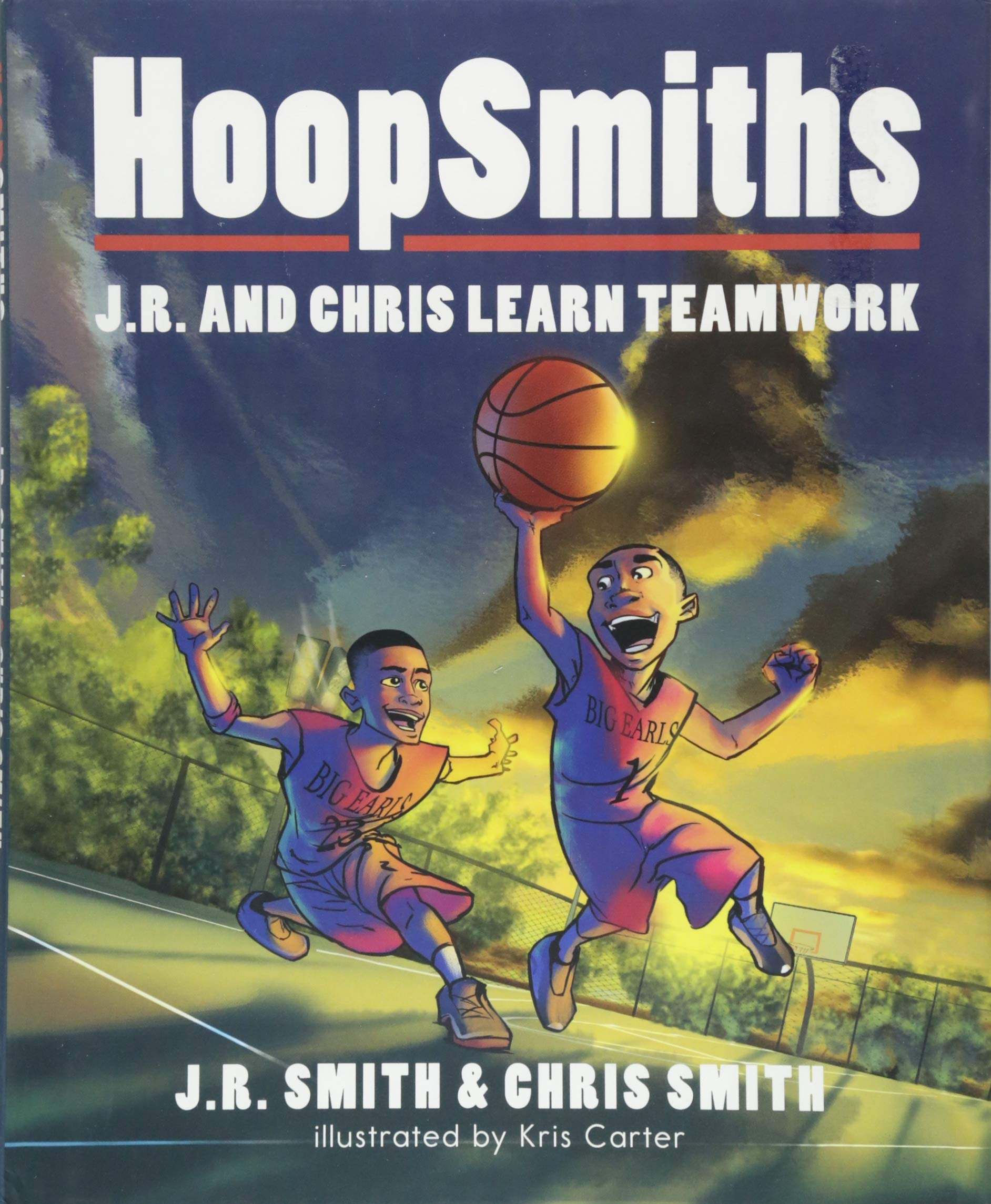 HoopSmiths  J.R. and Chris Learn Teamwork  J.R. Smith 6b89be706