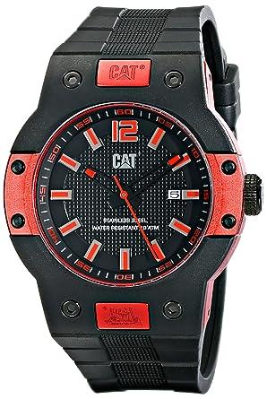 CAT WATCHES Mens N518121128 Northcape Round Analog Display Quartz Black Watch