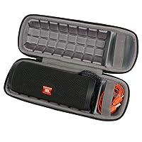 Étui de Voyage Rigide Housse Cas pour JBL Flip 3 4 Special Edition - Enceinte portable Bluetooth par co2CREA (Black hard case)